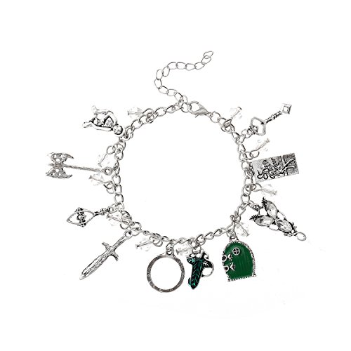 LUREME Vintage Charms Link Bracelet for Fans Cosplay Jewelry (bl003477)