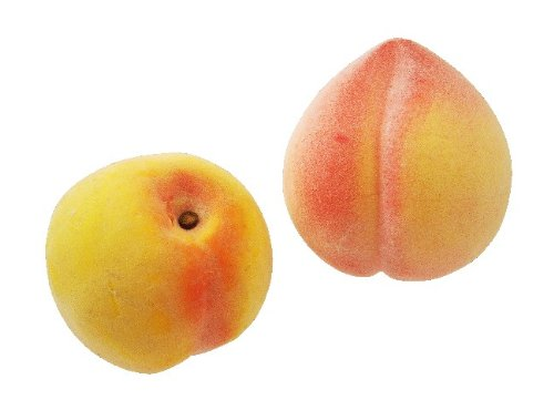 1 PEACH ARTIFICIAL FRUIT HOME 1 PEACH FAKE FRUTI