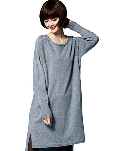 MatchLife - Jerséi - para mujer Style4-Gray(Fit UK 4-18)