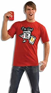 "Forum Novelties Legally 21 ""I am Legal Bring It on Tee"""