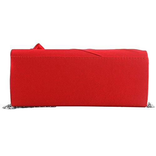 Ladies Bouquet Bag Evening Single Shoulder Party Wallet Women Strap Fashion Silk with Clutch Prom Red Chain Weeding Rose Handbag rn4qrwvY