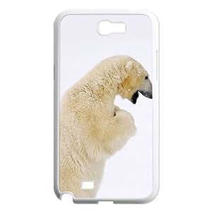 GRTT Gorgeous Samsung Galaxy Note 2 N7100 case Polar Bear Customized Bumper Plastic Hard Case RT805106
