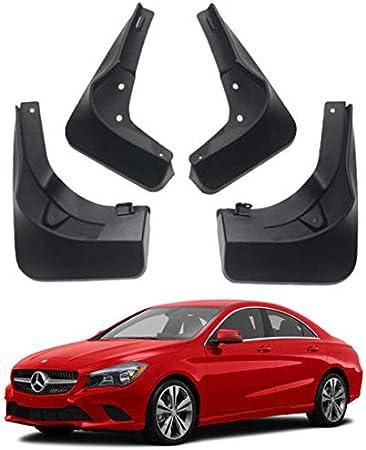 Juego completo de 4 guardabarros moldeados universales para la mayor/ía de modelos Benz