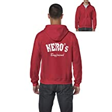 "Ugo Hero's Boyfriend s Boyfriend"" Full-Zip Men's Hoodie"