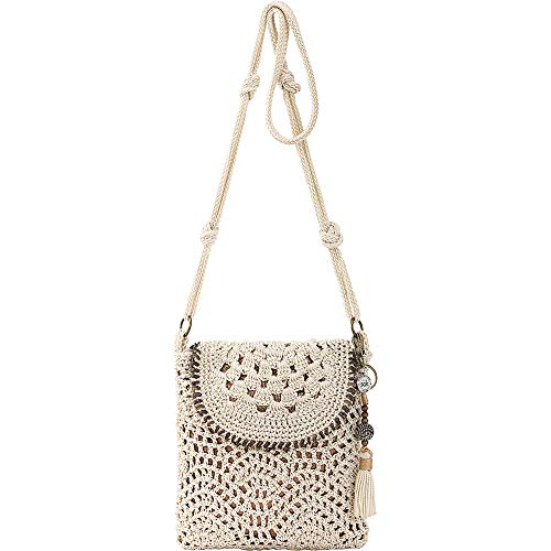 The Sak Women's Sayulita Flap Crossbody Natural One Size
