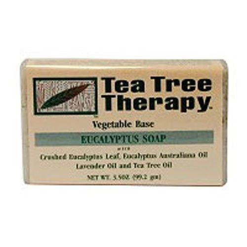 Tea Tree Therapy Eucalyptus Soap Vegetable Base, 3.5 Ounce