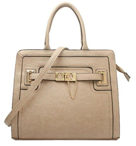 Para Caqui Material De Mujer Asas Sintético Bolso Handbags Girly YHO66