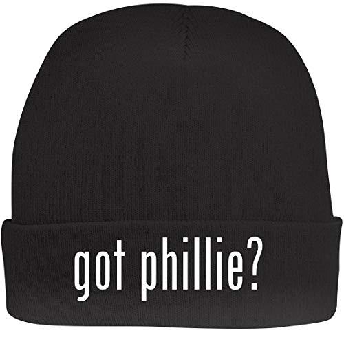 Shirt Me Up got Phillie? - A Nice Beanie Cap, Black, OSFA ()