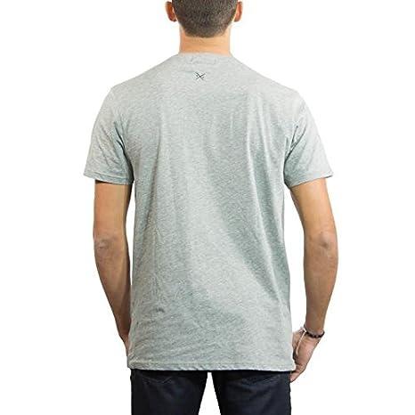 f38992fff611 Amazon.com  Threadsmiths Men s Cavalier Hydrophobic T-Shirt (XL, Grey)   Clothing