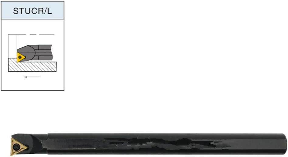 ZIYI 95/° S20R-STUCL16 Index Internal Lathe Turning Holder For TCMT Inserts