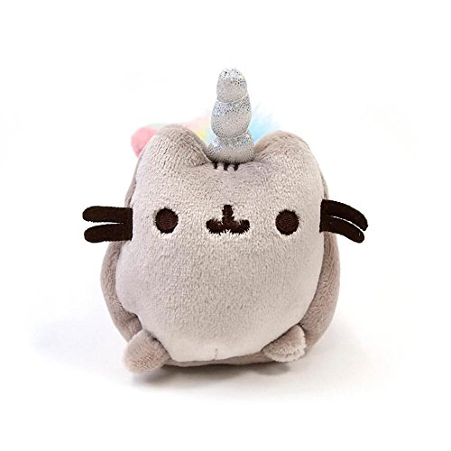 Gund Trousse Pusheen, Animal, 4060824, Gris, 12 x 4 x 15 cm