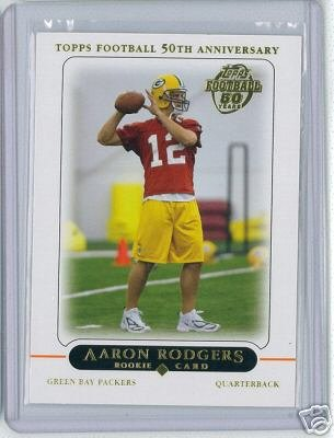 on Rodgers RC - Green Bay Packers (RC - Rookie Card) (Football Card) Super Bowl MVP ()
