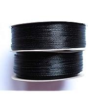 CaPiSo® 100 m/200 m satinband 3 mm slipband, presentband, dekorband, satin bröllop, jul