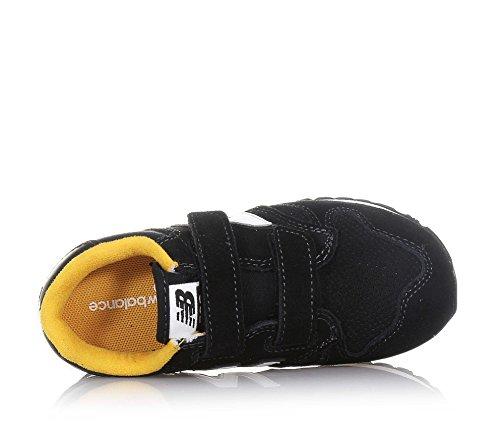 NEW BALANCE - Zapatilla deportiva negra Preschool en crosta, SPECIAL EDITION, con doble cierre de velcro, Niño, Niños