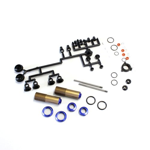 Shock Cap Kyosho - Kyosho W5305V Velvet Coating Triple Cap Thread Big Bore Shock Set