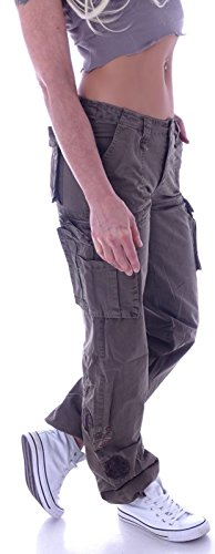 Cargo Cachi Jeans station Donna Style qw6E8aa