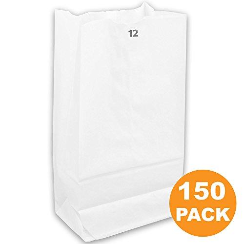 White Paper Bags 13 x 7 x 4.5