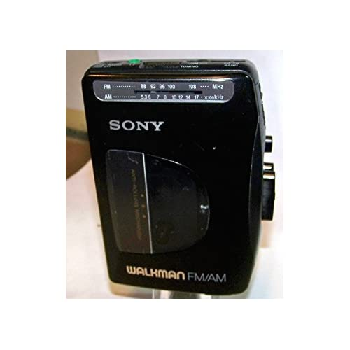 Image of Cassette Players & Recorders SONY WALKMAN Cassette AM FM Radio Model WM-FX10 Belt Clip