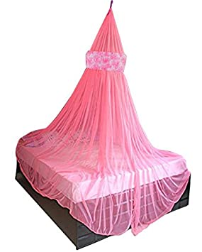 Creative Textiles Latest Design Foldable Hanging Polyester Mosquito Net CTMNPTB119172_1_Double