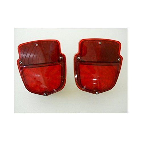 (2) 1953 - 1956 Ford Truck LED Stop Turn Tail Lights / 1954 1955 / License (1953 Ford F100)
