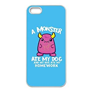 iPhone 4 4s Cell Phone Case White A Monster Ate My Homework VIU042050