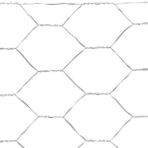 PAPILLON 1170982 quadrettatura triple-torsion 31 150 cm rossoolo 50 m, per uso domestico, colore  argento metallizzato