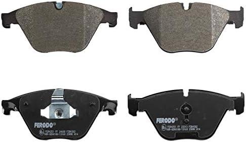 Ferodo Fdb4382 Premier Bremsbelagsatz Scheibenbremse 4 Teilig 4 Stück Auto