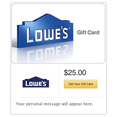 Lowe's - E-mail - Email Gift Card Birthday