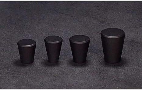 17mm Schwarz 15 BIGBOBA 2 St/ück Einfach Mini Kupfer Behandeln T/ür Kabinett Schublade Behandeln Zubeh/ör Kleiderschrank Kabinett Legierung Behandeln Behandeln Dekoration