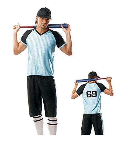 [Sexy Baseball Player Costume Large/XL] (Baseball Player Costume Men)
