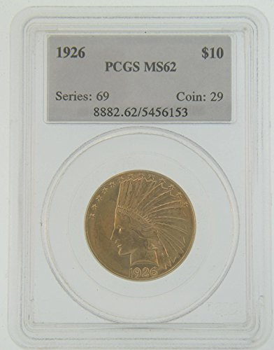 (1926 Pre-1933 US Gold Coins $10 MS62 PCGS)