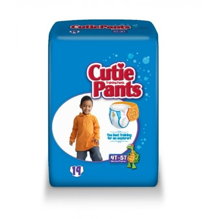 97073100 Toddler Training Pants Cutie Pants Pull On 4T - 5T Disposable Heavy Absorbency