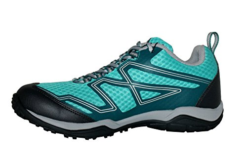 Picture of Columbia Women's Pine Bluffs Waterproof Athletic Techlite Sneakers Shoes (7.5)