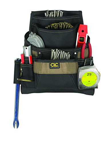 CLC Custom Leathercraft 1620 Poly Nail and Tool Bag, 11 Pockets by Custom Leathercraft (Image #1)