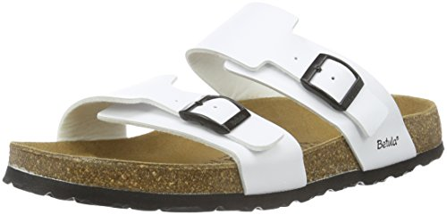 Betula Global No.1 - Sandalias Unisex adulto Weiß (BF White)