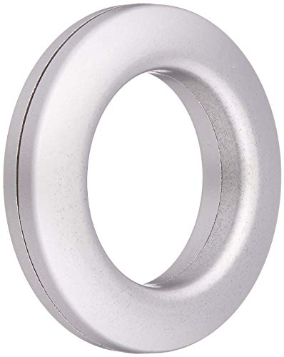(Dritz Home 44373 Round Curtain Grommets, 1-Inch, Brushed Silver (8-Piece))