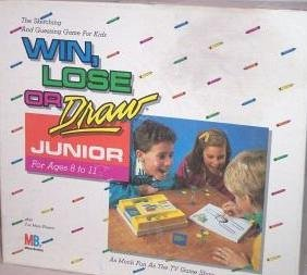 Win Lose Or Draw Junior Amazoncouk Toys Games