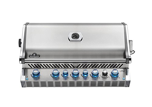 Napoleon Grills Built-in Prestige PRO 665 with Infrared Rear Burner Stainless Steel Natural Gas Grill