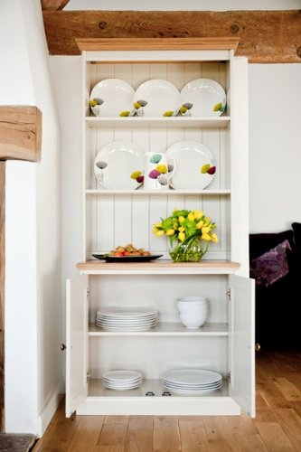 Avana Painted Furniture Small Oak Dresser Display Unit Sideboard Dining Room