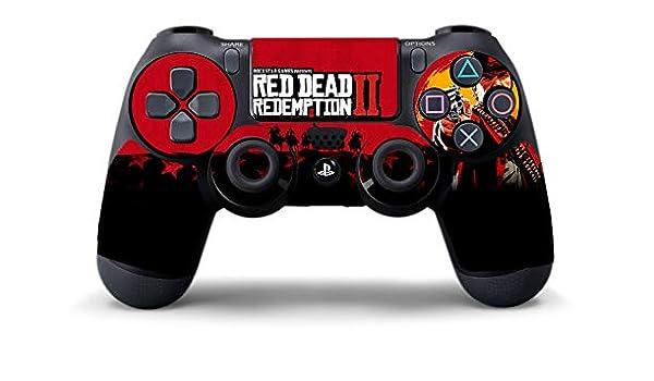 Stickers Red Dead Redemption 2 para Playstation 4, PS4: Amazon.es: Industria, empresas y ciencia