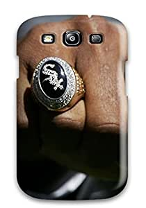 Quality RobertLowellenStone Case Cover With Chicago White Sox Nice Appearance Compatible With Galaxy S3