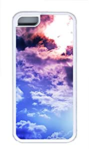 iPhone 5C Case Bright Clouds TPU iPhone 5C Case Cover White