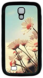 Samsung Galaxy S4 Case TPU Customized Unique Print Design Beautiful Flowers 03 Case Cover For Samsung Galaxy S4