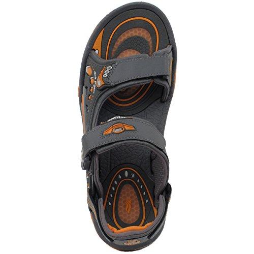 Gouden Duivenschoenen Gp9153 Heren Dames Air Max Snap Lock Sport Sandalen Met Steunzool 9153 Grijs Oranje