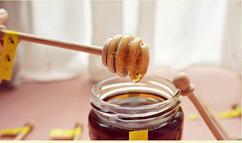 Dealglad® 50pcs Portable Mini Jam Honey - Wooden Honey Dipper Shopping Results