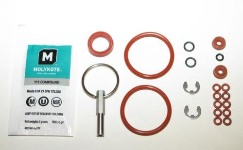 KUANG Jura Capresso Brew Group O-ring set w/ Oval Head Service Key Tool BIG KIT
