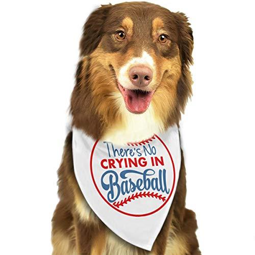 Pet Scarf Dog Bandana Bibs Triangle Head Scarfs Baseball Accessories for Cats Baby Puppy -