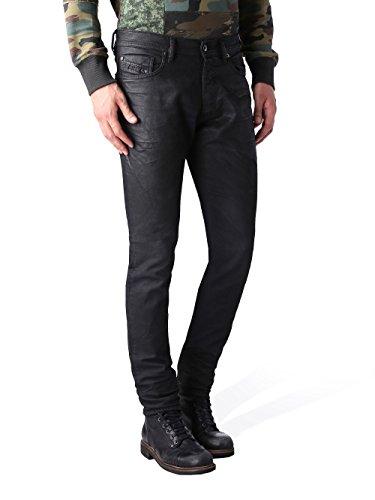 Diesel Mens Tepphar RU807 Black Denim Jeans (N15) (33x30)