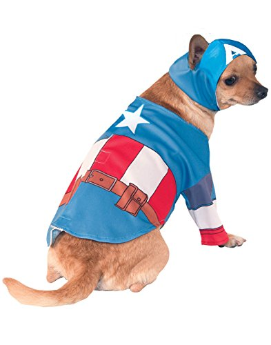 Rubie's Marvel Universe Captain America Pet Costume, Extra-Large]()