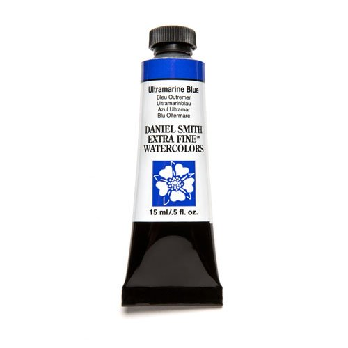 DANIEL SMITH Extra Fine Watercolor 15ml Paint Tube, Ultramarine Blue
